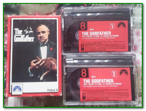 Video8 Hollywood Original Movie - Godfather - freevideoworkshop.com