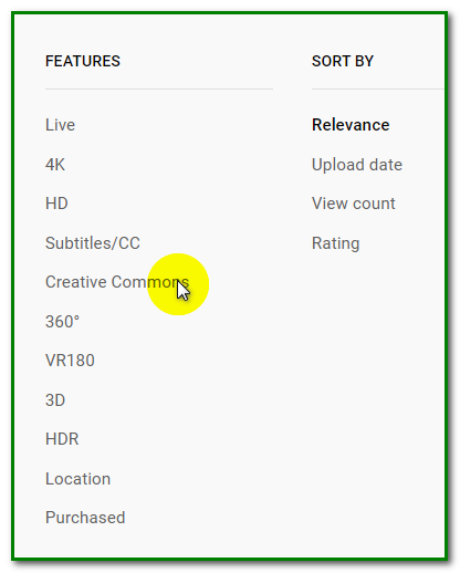 Non-Copyrighted Videos on YouTube - Creative Commons Video 3