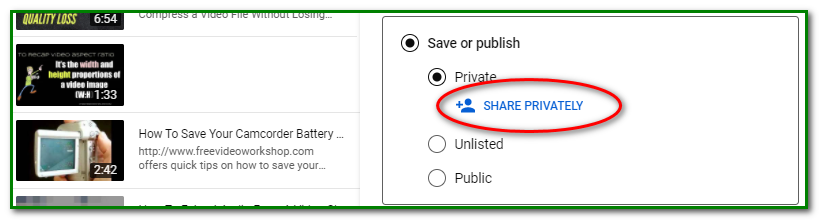 5 How to Share a Private YouTube Video