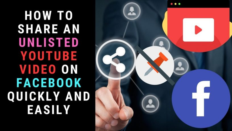 Share unlisted YouTube video on Facebook