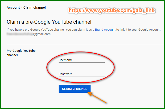 Recover YouTube Account with Username 3
