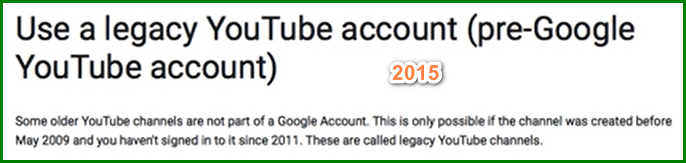 Recover YouTube Account with Username 1