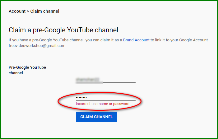 Recover YouTube Account with Username 4