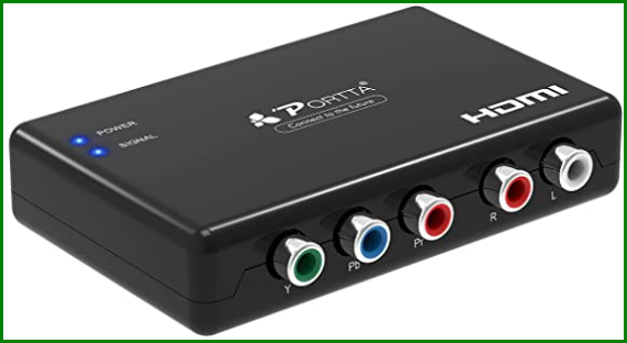 component video to HDMI adapter 1