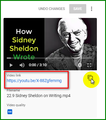 share an unlisted YouTube video on Facebook 4
