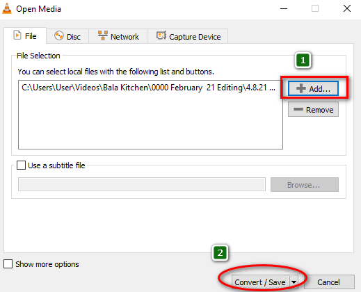 Change video frame rate in VLC media player 2