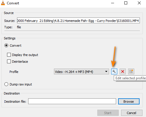 Change video frame rate in VLC media player 3