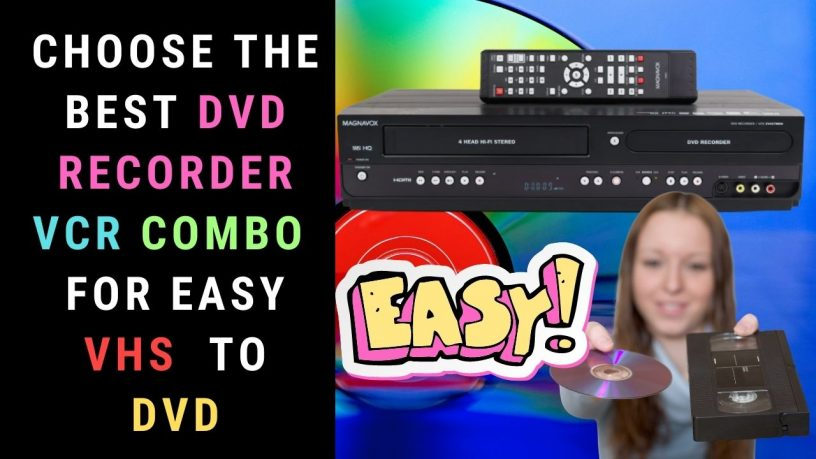 Best DVD Recorder VCR Combo Featured