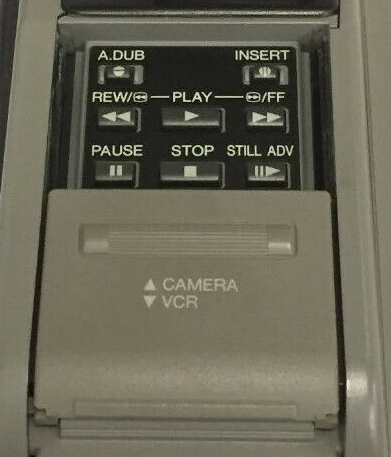 Convert VHS to DVD without a VCR  - VHS Video camera VCR buttons