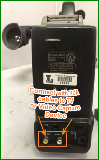 Convert VHS to DVD without a VCR  - VHS camcorder AV out