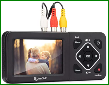 Convert VHS to DVD without a VCR - ClearClick Video to Digital Converter 2.0.
